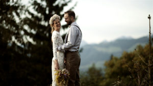 wedding video austrian mountain
